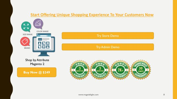 Start Offering Unique Shopping Experience To Your Customers Now