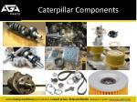 caterpillar components