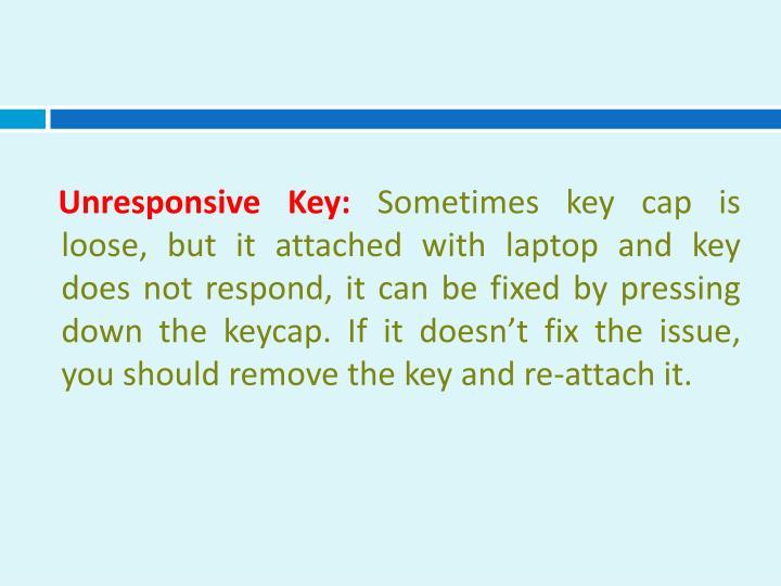 Unresponsive