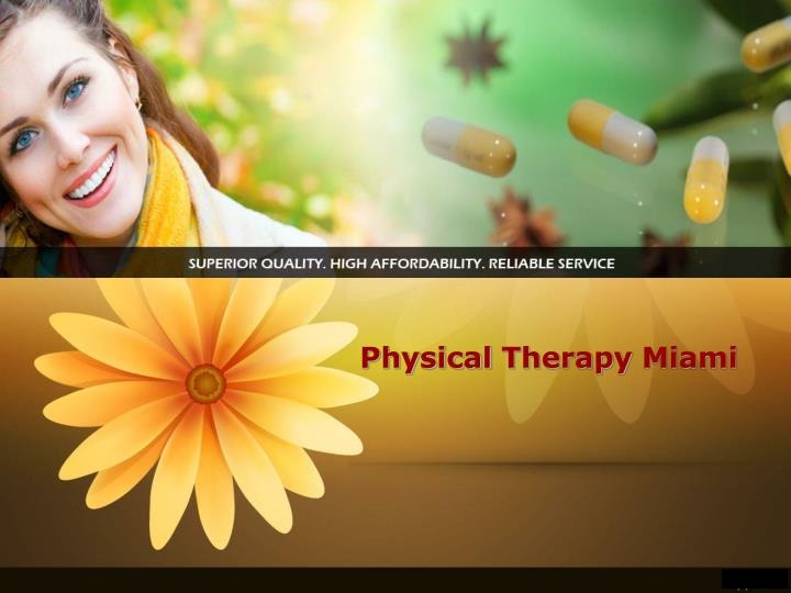 Physical therapy miami