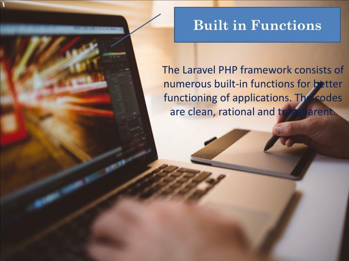 Built in Functions