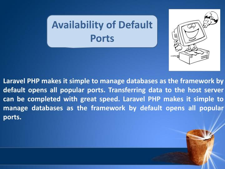 Availability of Default Ports
