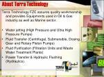 about terra technology