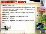 maritime industry shipyard
