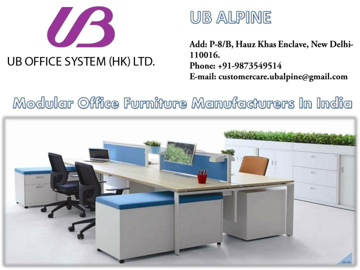 ppt modular office furniture in india best office furniture