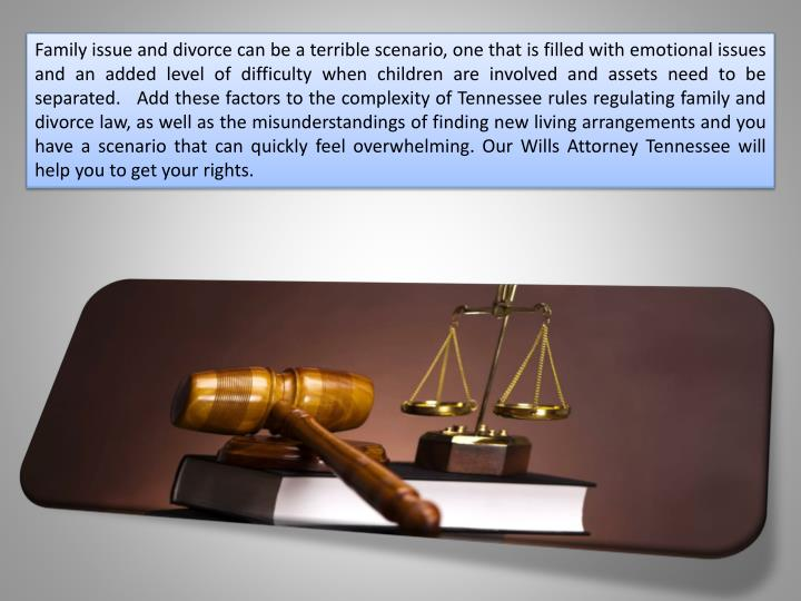 Family issue and divorce can be a terrible scenario, one that is filled with emotional issues and an...