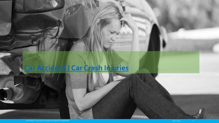 Car accident car crash injuries