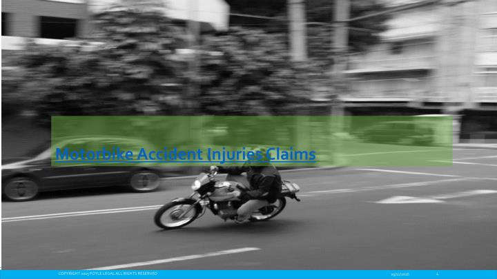 Motorbike Accident Injuries Claims