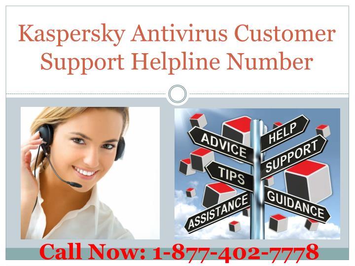 Kaspersky antivirus customer support helpline number