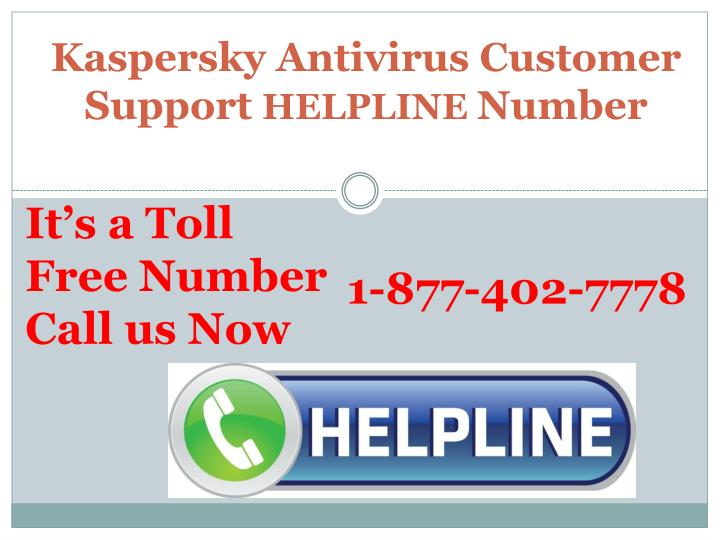 Kaspersky antivirus customer support helpline number1