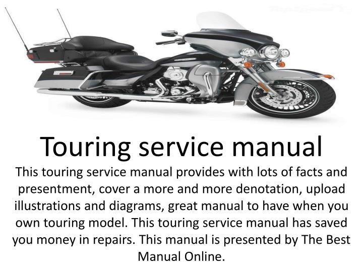 Touring service manual
