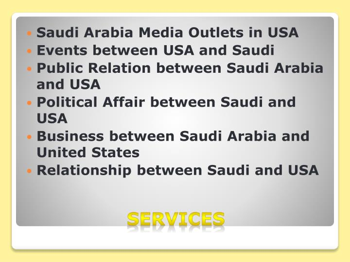 Saudi Arabia Media Outlets in USA