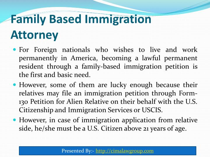 Family based immigration attorney1