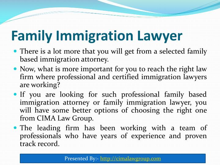 Family Immigration Lawyer