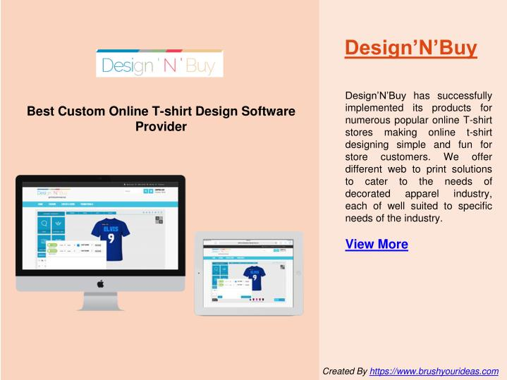 Ppt 10 best custom online t shirt design software for Custom t shirt software