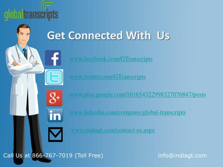 Get Connected With