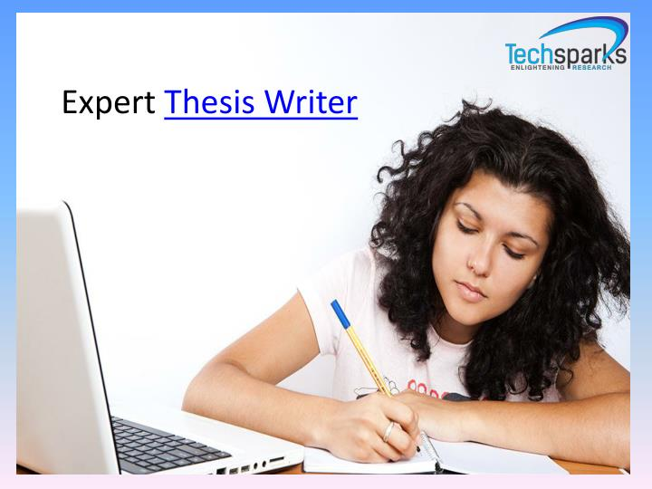Expert Thesis Writer