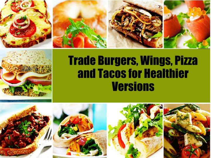 Trade Burgers, Wings, Pizza