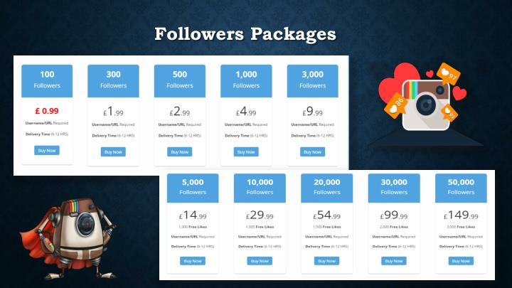Followers packages