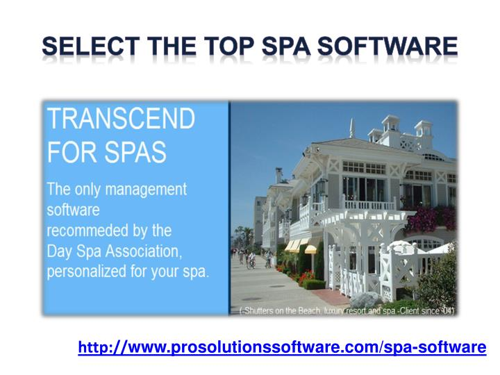Select the top spa software