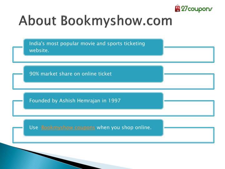 About Bookmyshow.com