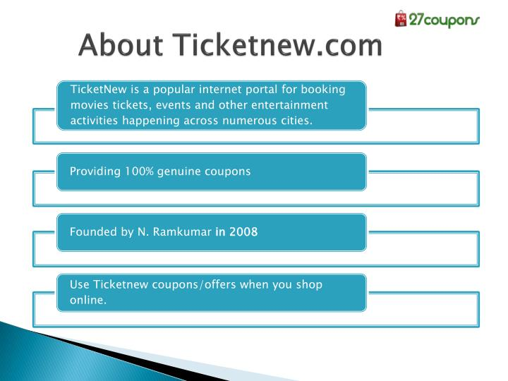 About Ticketnew.com