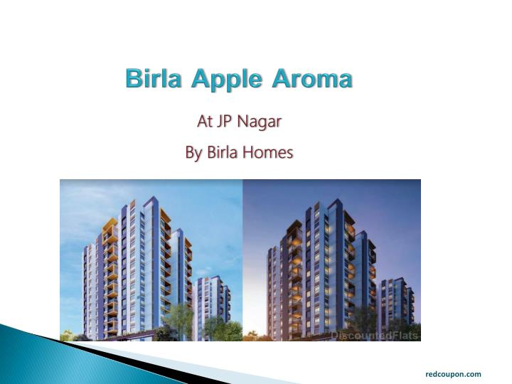 birla apple aroma at jp nagar by birla homes n.