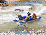 ride a boat by it self in the rishikesh at time river rafting