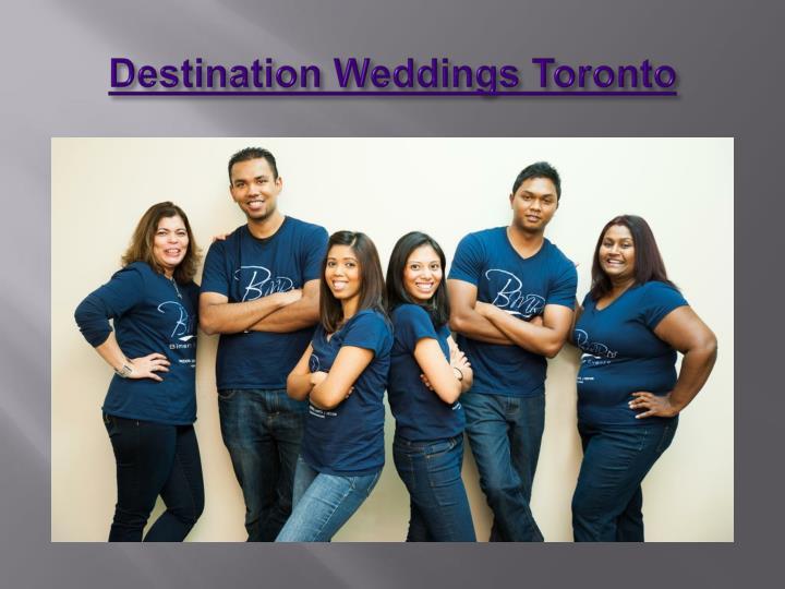 Destination weddings toronto