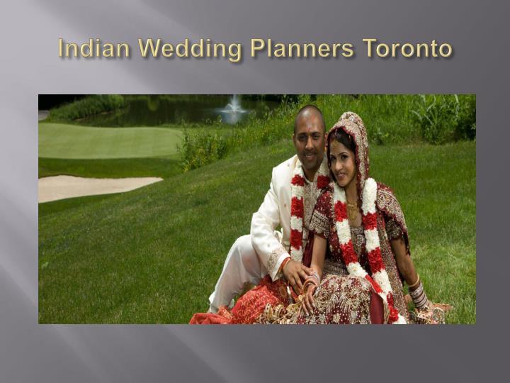 Indian Wedding Planners Toronto