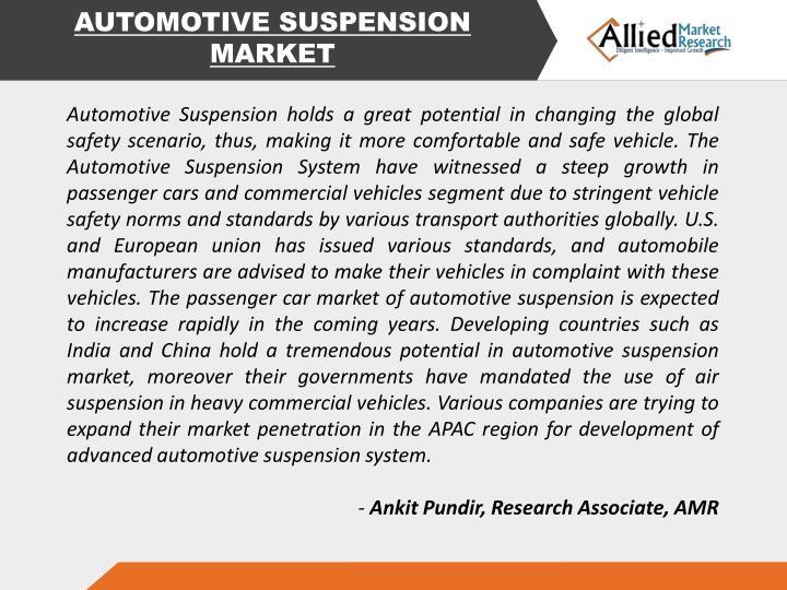 AUTOMOTIVE SUSPENSION