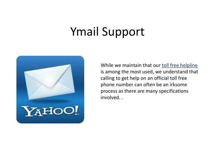 Ymail support