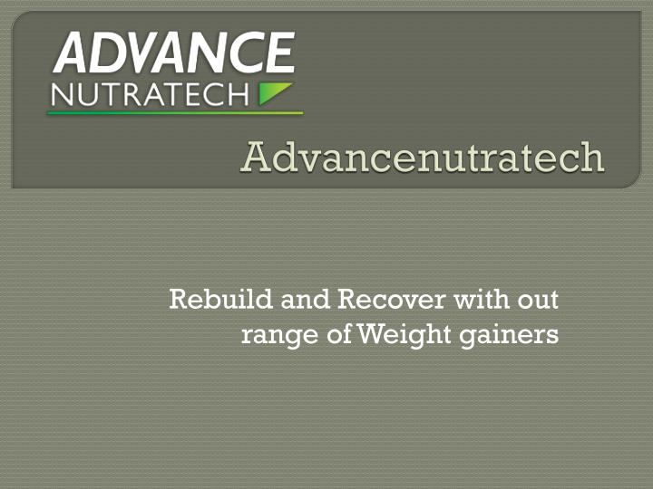 Advancenutratech