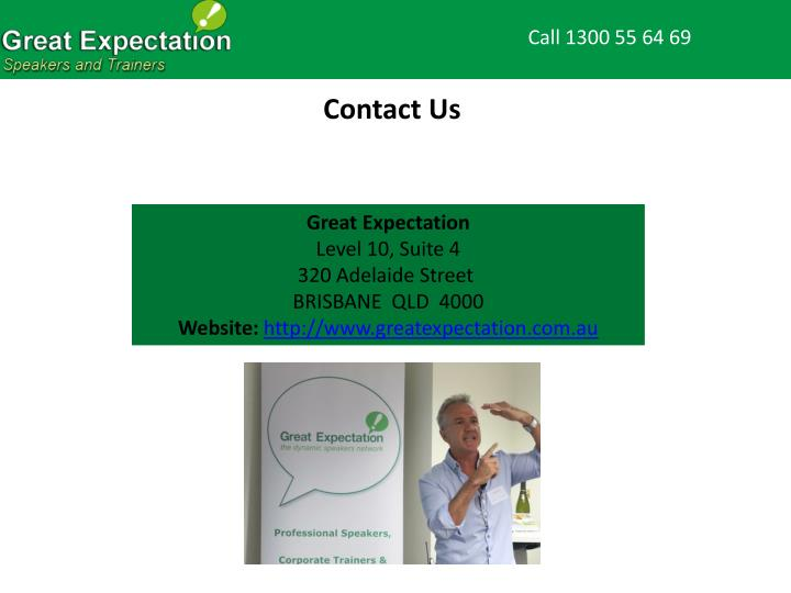 Call 1300 55 64 69