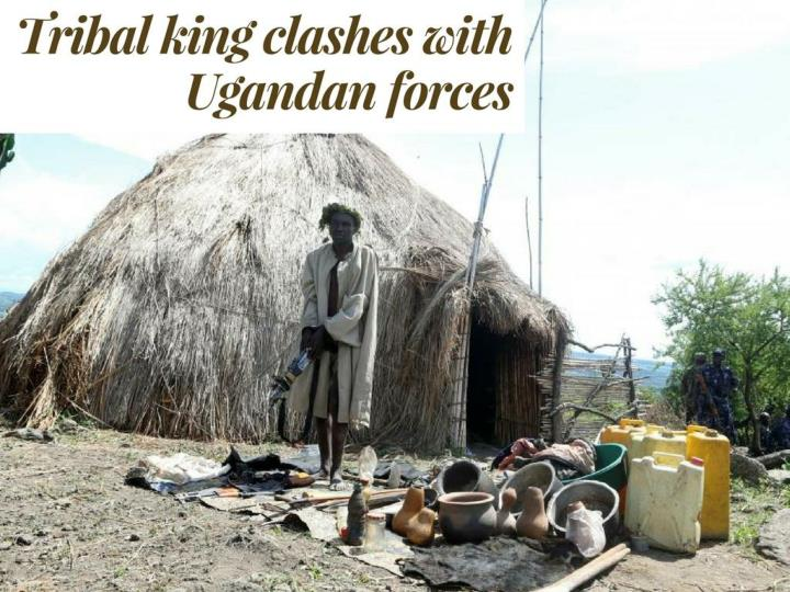 tribal ruler conflicts with ugandan forces n.