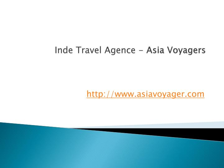 Inde travel agence asia voyagers