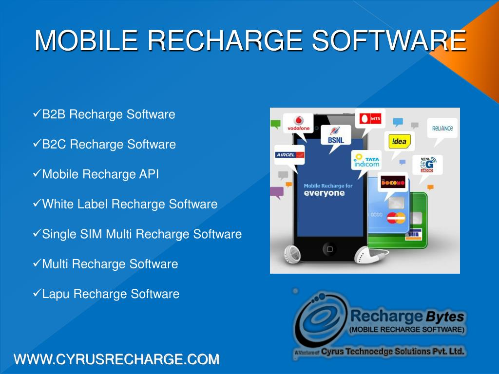 PPT - Cyrus Recharge Solutions - Mobile Recharge Software