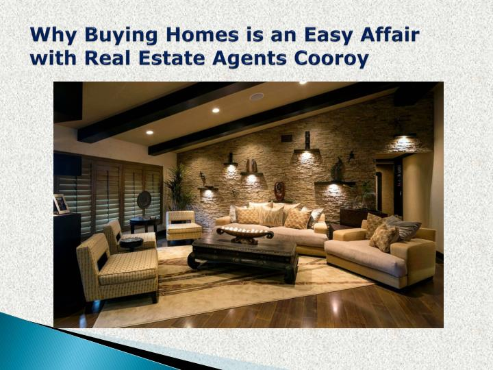 Why buying homes is an easy affair with real estate agents cooroy