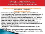 cpmgt 302 mentor possible everything cpmgt302mentor com10