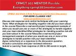 cpmgt 302 mentor possible everything cpmgt302mentor com12