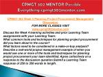 cpmgt 302 mentor possible everything cpmgt302mentor com15