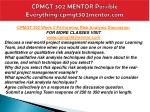 cpmgt 302 mentor possible everything cpmgt302mentor com8