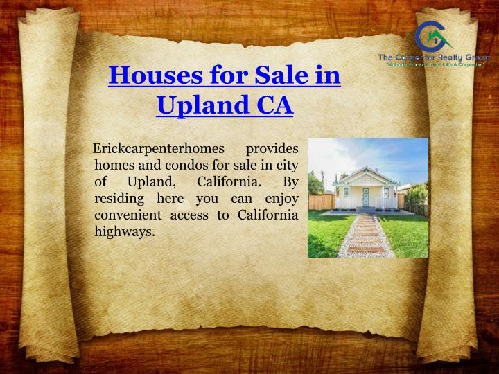 Houses for Sale in Upland CA