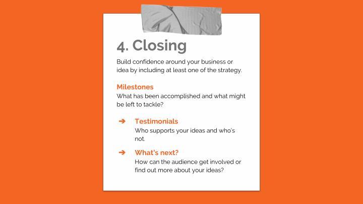 4. Closing