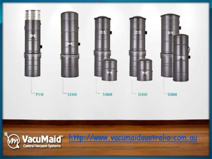 Providing household ease with our central vacuum systems