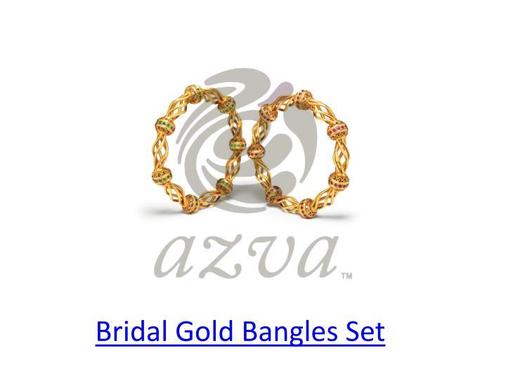 Bridal Gold Bangles Set