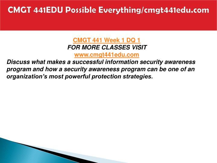 Cmgt 441edu possible everything cmgt441edu com2