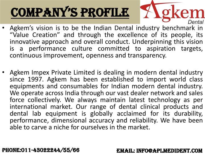 Company s profile