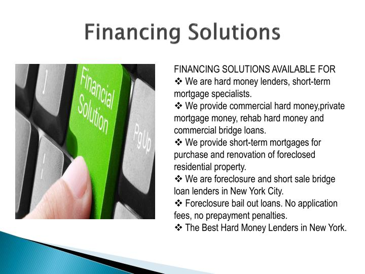 Financing Solutions