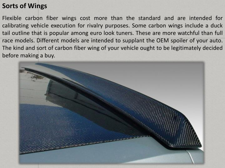 Sorts of Wings